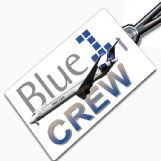 Blue1 MD90 crew tag